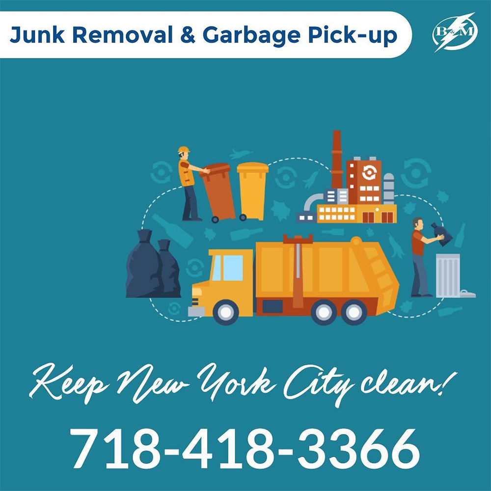 Junk removal and garbage pickup